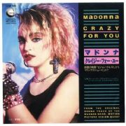 "CRAZY FOR YOU - JAPAN 7"" VINYL"